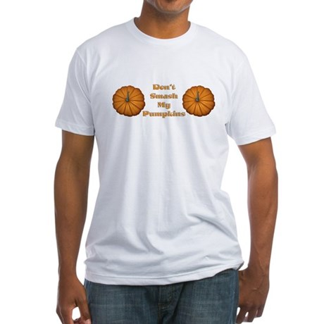 Funny Halloween T-shirts Fitted T-Shirt