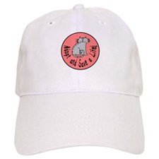 Adopt and Save a Life! Cat Baseball Cap
