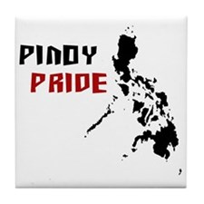 Pinoy Pride - back Tile Coaster