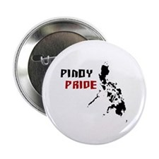 "Pinoy Pride - back 2.25"" Button (10 pack)"