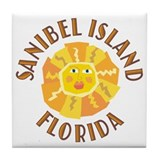 Sanibel Sun - Tile Coaster