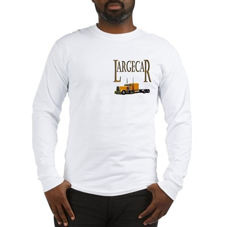 Large Car Long Sleeve T-Shirt
