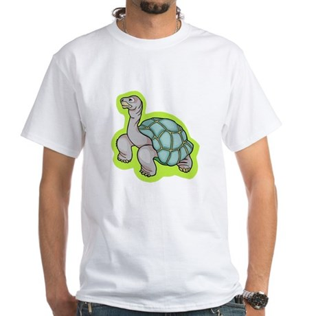 Little Turtle White T-Shirt