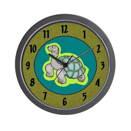 Little Turtle Wall Clock