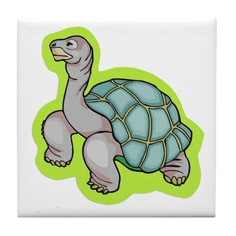 Little Turtle Tile Coaster