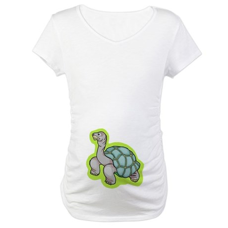 Little Turtle Maternity T-Shirt