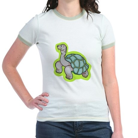 Little Turtle Jr. Ringer T-Shirt