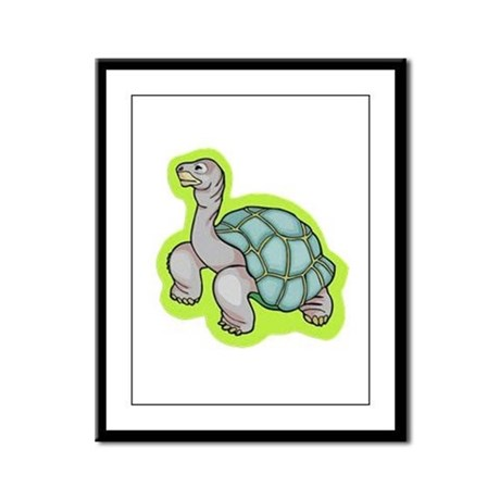 Little Turtle Framed Panel Print