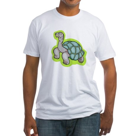 Little Turtle Fitted T-Shirt