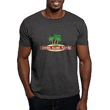Sanibel Island Palms - T-Shirt