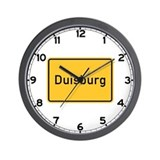 Duisburg Roadmarker, Germany Wall Clock