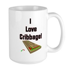I Love Cribbage Mug