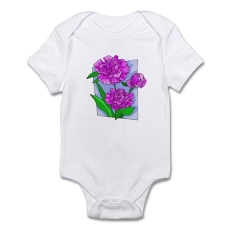 Pink Peonies Infant Bodysuit