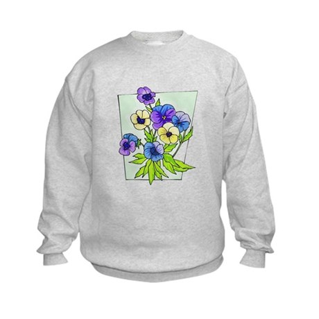 Pansy Kids Sweatshirt