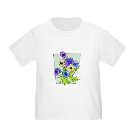 Pansy Toddler T-Shirt