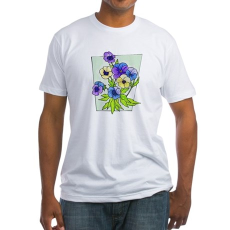 Pansy Fitted T-Shirt