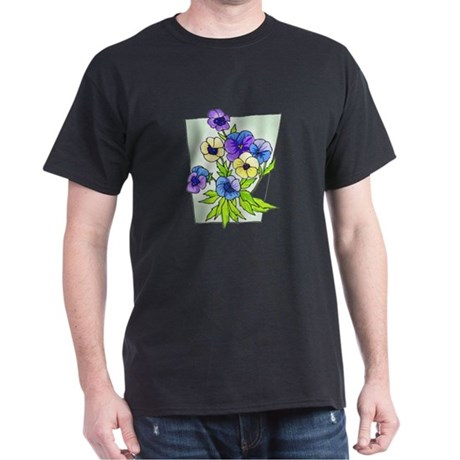 Pansy Dark T-Shirt