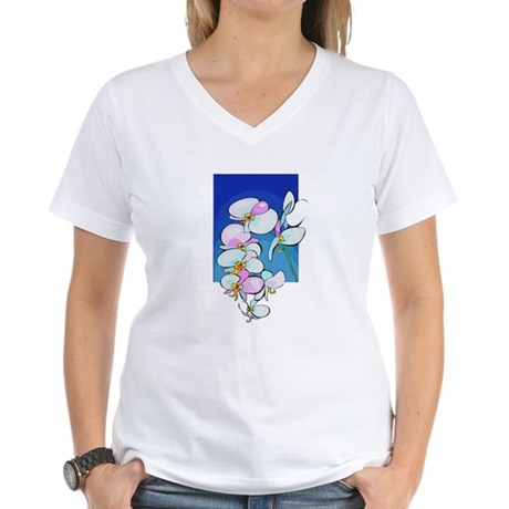 Sweet Peas Women's V-Neck T-Shirt