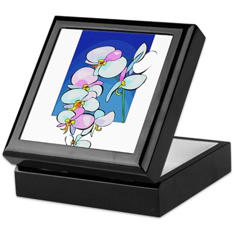 Sweet Peas Keepsake Box