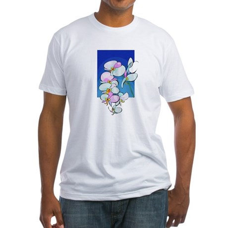 Sweet Peas Fitted T-Shirt