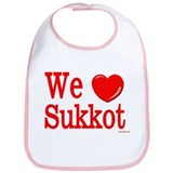 We Love Sukkot Bib