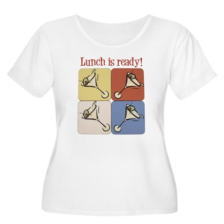 Martini, Lunch Is Ready Women's Plus Size Scoop N