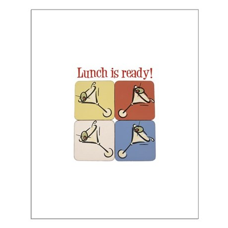 Martini, Lunch Is Ready Small Poster