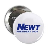 "NEWT GINGRICH PRESIDENT 2008 2.25"" Button (100 pac"