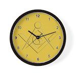 The Masons Canvas Wall Clock