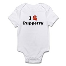 I (Heart) Puppetry Infant Bodysuit