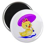 Baby Girl Duck Magnet