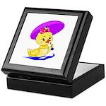 Baby Girl Duck Keepsake Box
