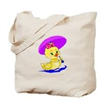 Baby Girl Duck Tote Bag