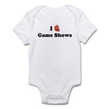 I (Heart) Game Shows Infant Bodysuit
