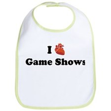 I (Heart) Game Shows Bib
