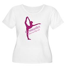 Gymnastics Makes Me Flip Out T-Shirt