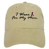 I Wear Purple 1 (Mom PC) Baseball Cap