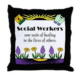 Seeds of Healing Throw Pillow
