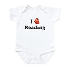 I (Heart) Reading Infant Bodysuit