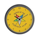 OES on Canvas Wall Clock