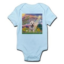 Cloud Angel West Highland Ter Infant Creeper