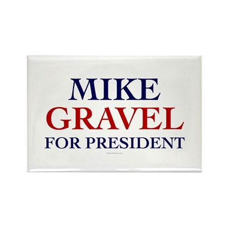 Mike Gravel for President Rectangle Magnet (100 pa