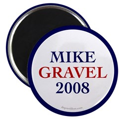 "Mike Gravel 2008 2.25"" Magnet (10 pack)"