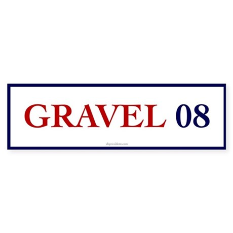 Gravel 08 Bumper Sticker