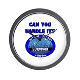 Survivor Wall Clock