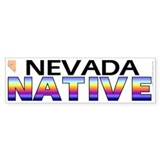 Nevada native (bumper sticker 10x3)