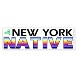 New York native (bumper sticker 10x3)