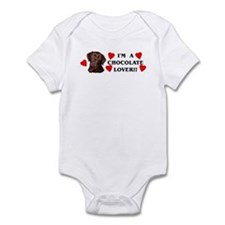 chocolate lab lover Infant Bodysuit