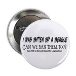 I was bitten by a Beagle Button
