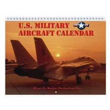 U.S. MILITARY AIRCRAFT Wall Calendar